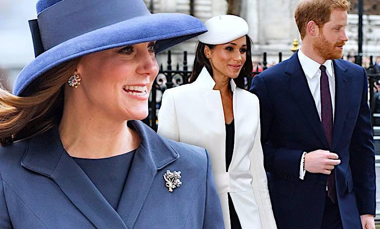 Księżna Kate, Meghan Markle, Książę Harry, Rodzina Królewska