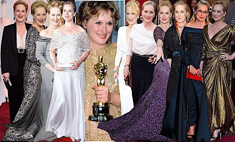 Meryl Streep Oscary, stylizacje, wygrane, nominacje