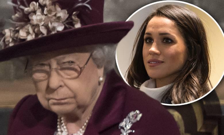 Królowa nie lubi Meghan Markle?