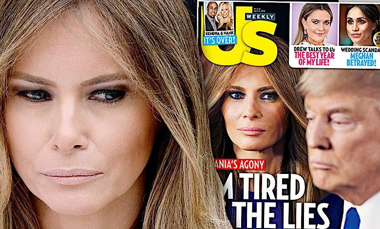Melania Trump żyje w agonii