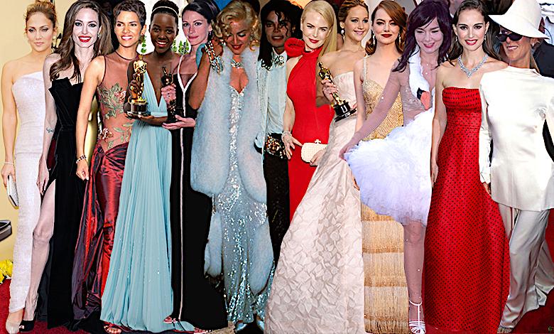 Oscary 2018 kreacje gwiazd
