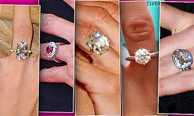 Pierścionki zaręczynowe gwiazd