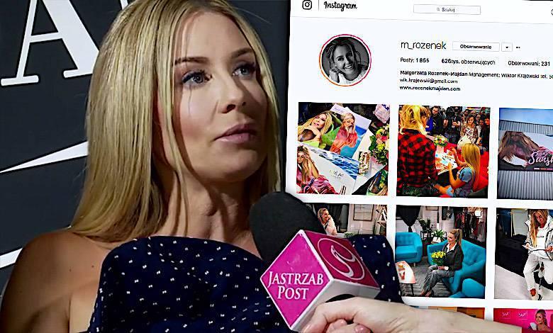 Małgorzata Rozenek Instagram