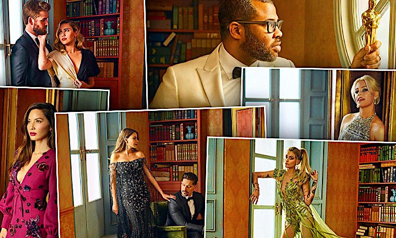 Vanity Fair Oscar Party 2018 sesja gwiazd