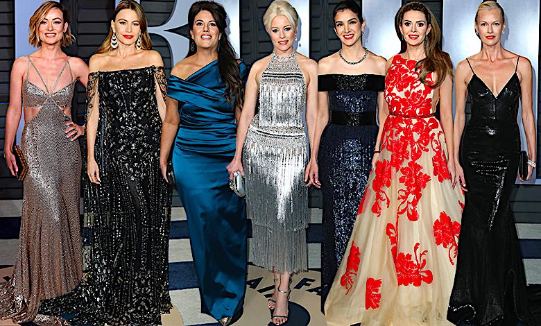 Oscary 2018 - impreza Vanity Fair