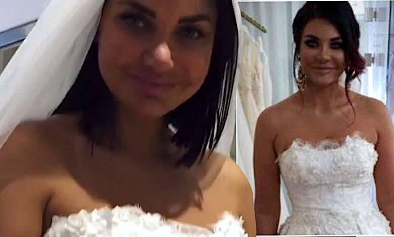Wodzianka suknia ślubna