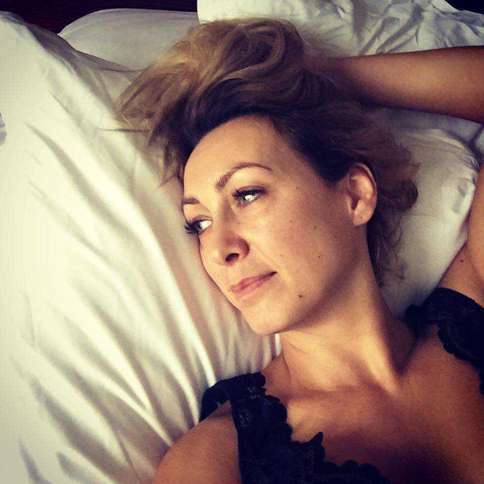 Anna Kalczyńska bez maikijażu