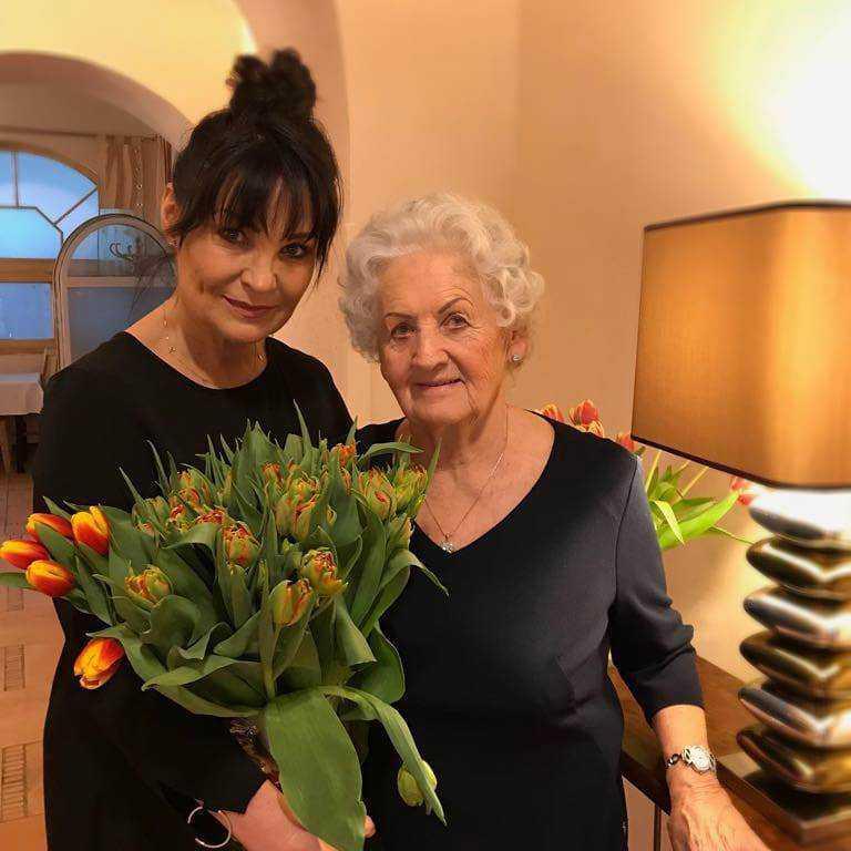 Iwona Pavlović pochwaliła się zdjęciem z mamą