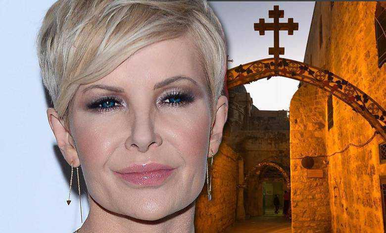 Joanna Racewicz zabrała syna do Jerozolimy