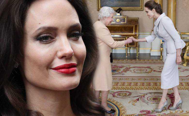 Angelina Jolie uczy dzieci dbania o planetę