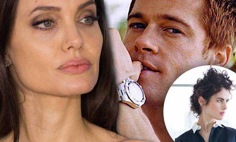 Angelina Jolie załamana romansem Brada Pitta