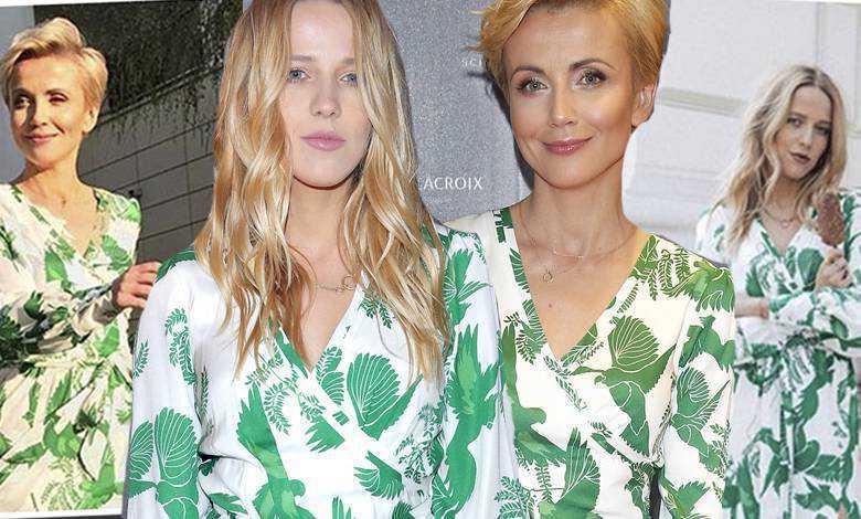Katarzyna Zielińska i Jessica Mercedes w takiej samej sukience