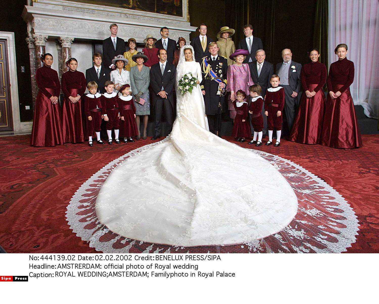 Suknia ślubna księżnej Holandii Maximy Zorreguiety