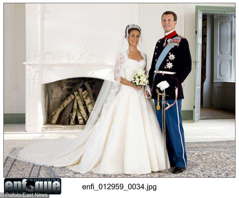 Suknia ślubna księżniczki Danii Mary