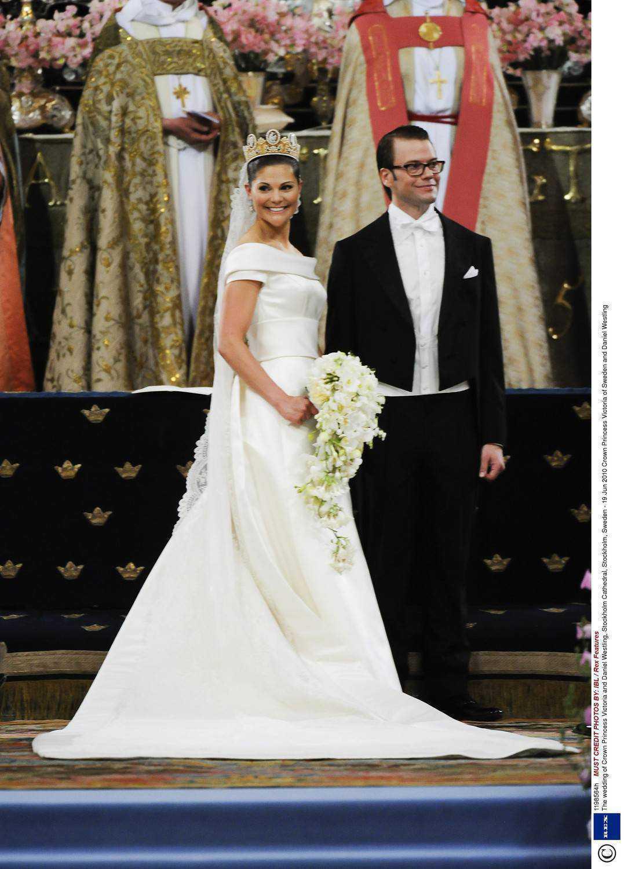 Suknia ślubna księżniczki Szwecji Victorii