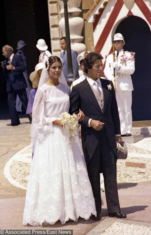 Suknia ślubna księżnej Monako Karoliny