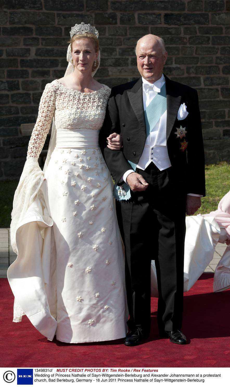 Suknia ślubna księżniczki Danii Nathalie