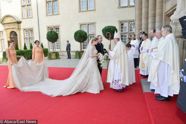 Suknia ślubna księżniczki Luksemburga Stephanie de Lannoy