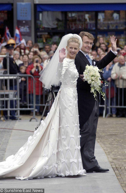 Suknia ślubna księżnej Holandii Mabel Wisse Smit