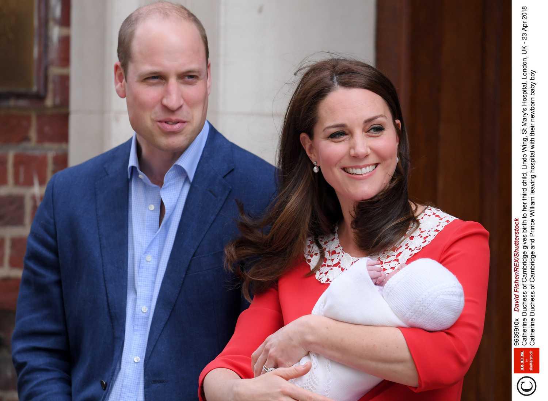 Księżna Kate i książę William pokazali trzecie dziecko