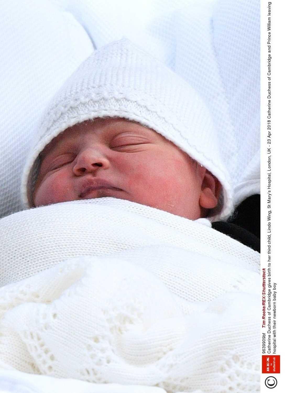 Księżna Kate i książę William z synem - książę Louis