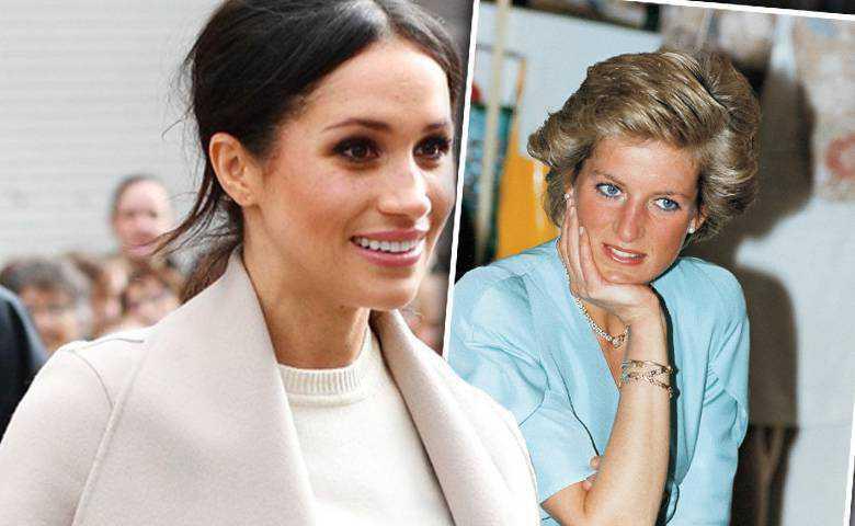 Meghan Markle będzie drugą księżną Dianą
