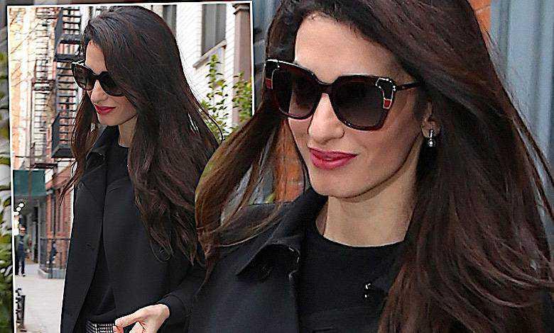 Elegancka Amal Clooney cała w trendach. Jej dwukolorowe szpilki to must have każdej fanki mody!