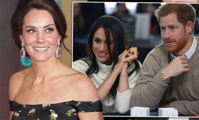 Księżna Kate, Meghan Markle, książę Harry ślub, kreacja