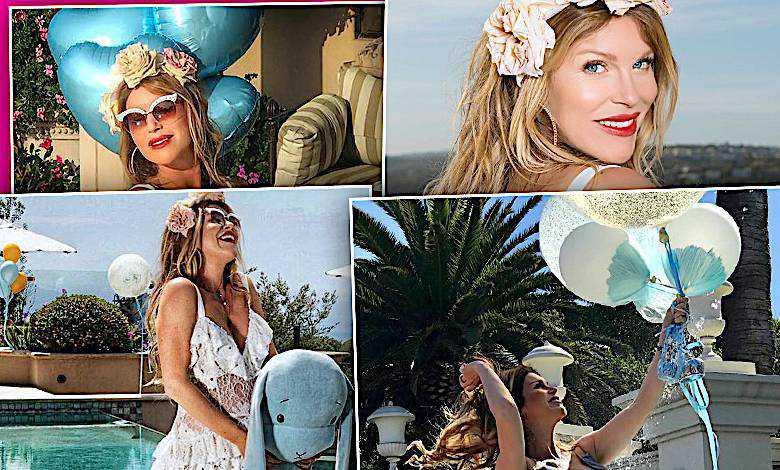 Hollywoodzkie baby shower Kingi Korty! 50-letnia gwiazda pokazała zdjęcia ze swojej luksusowej imprezy