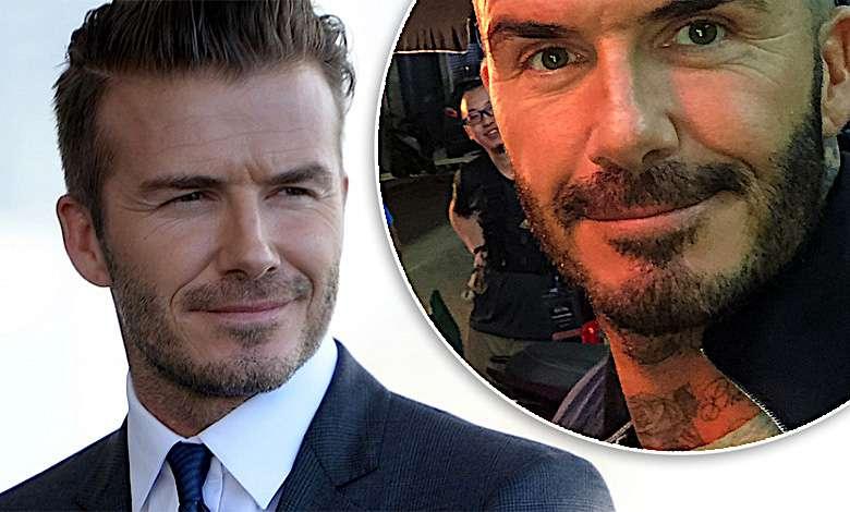 David Beckham fryzura