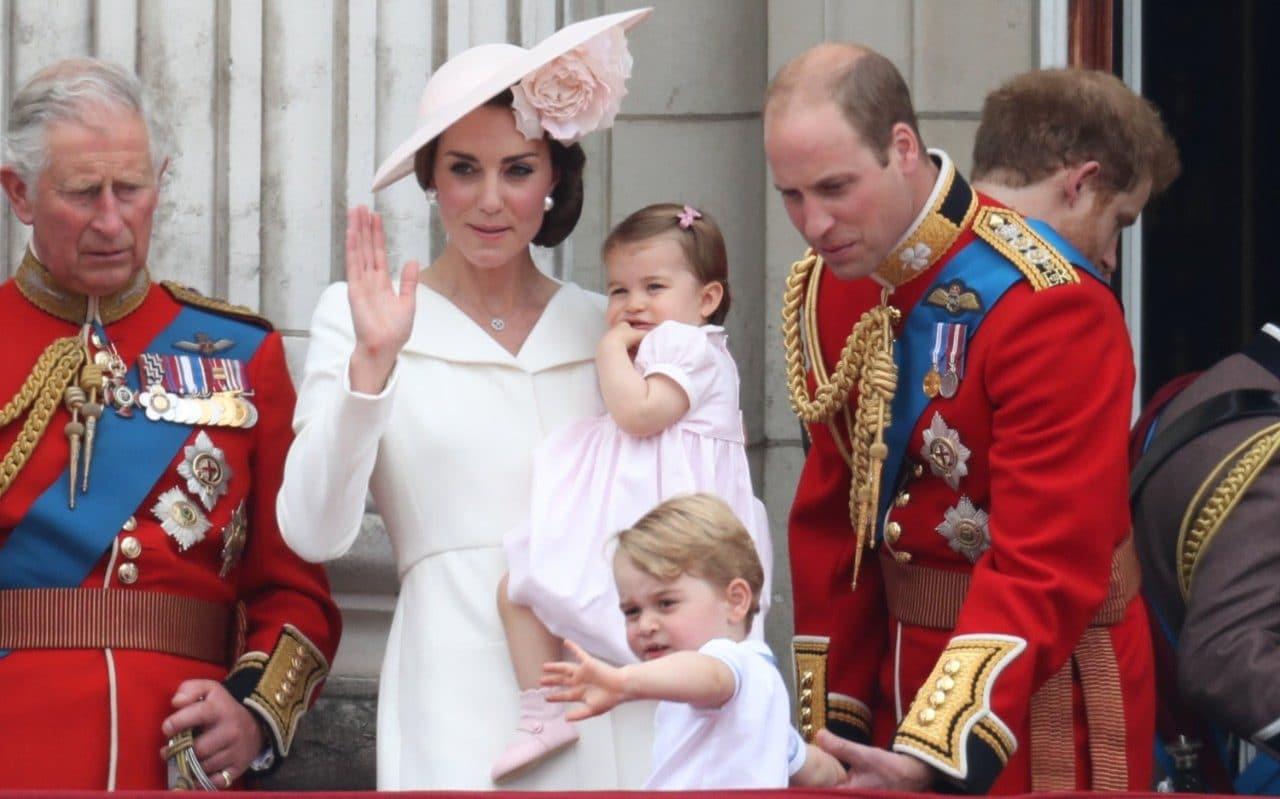 Pierwsze publiczne wystąpienie księżniczki Charlotte