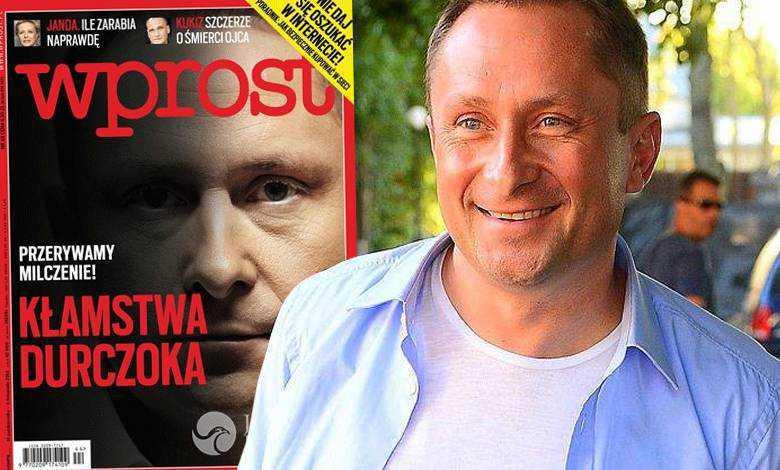 Kamil Durczok wygrał z Wprost