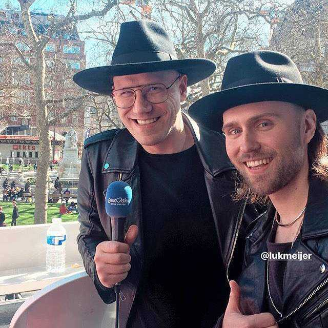 Gromee i Lukas Meijer w Londynie przed Eurowizją 2018