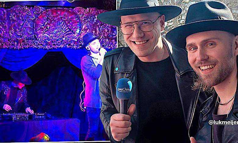 Gromee i Lukas Meijer w Londynie, Eurowizja 2018