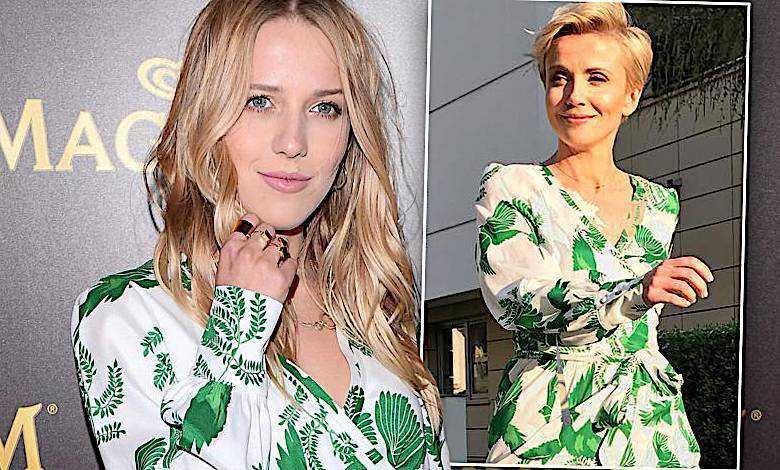 Jessica Mercedes i Kasia Zielińska w takiej samej sukience