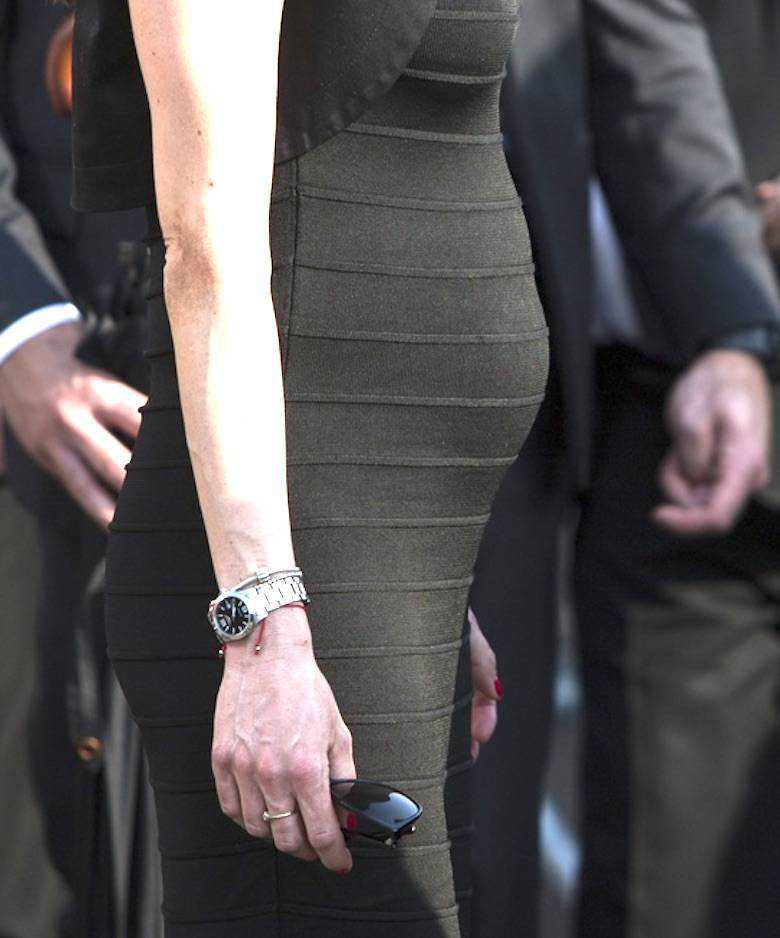 Zdjęcie (13) Obcisła mini i zabójcze szpilki. Marta Kaczyńska z mocno zaokrąglonym brzuchem największą atrakcją zawodów w Sopocie!