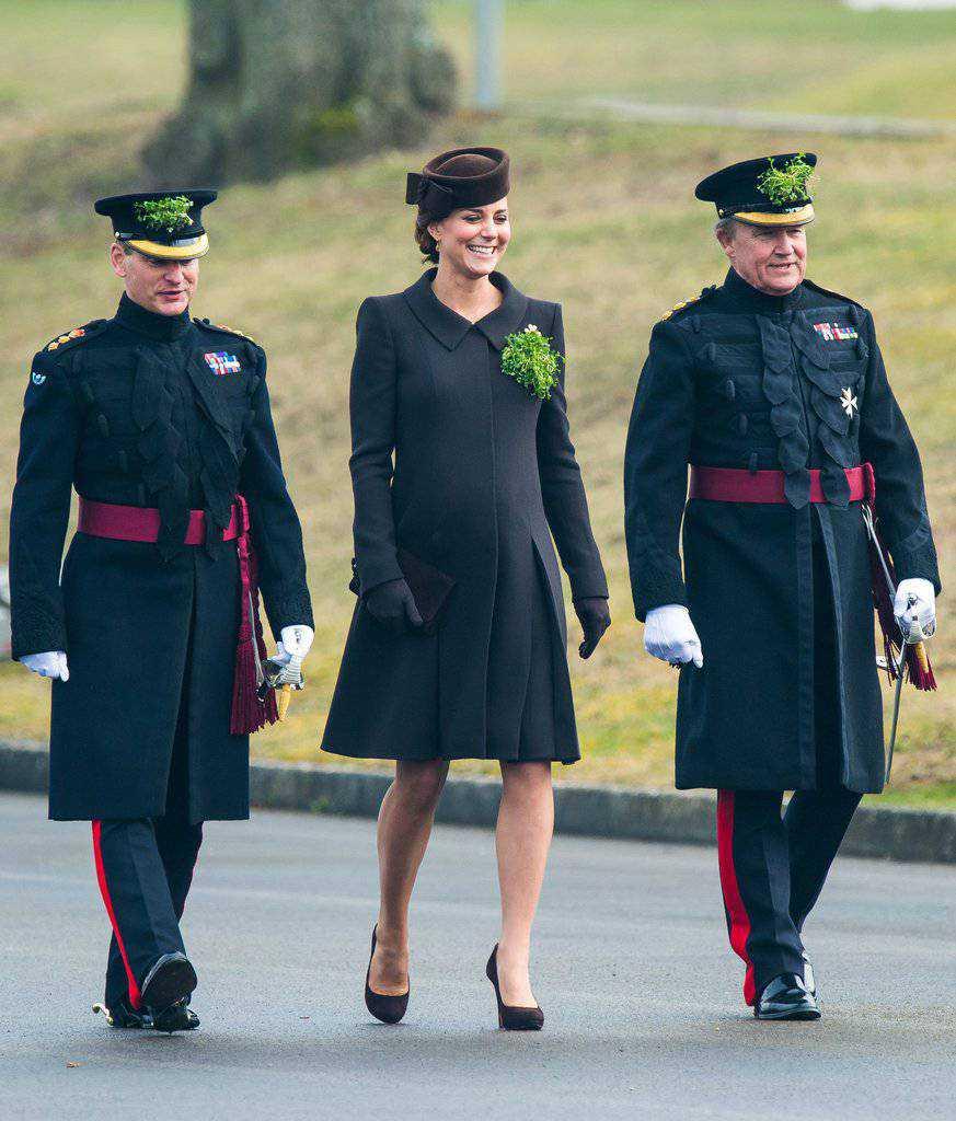 Księżna Kate – Dzień Świętego Patryka, 2015 rok (fot. ONS)
