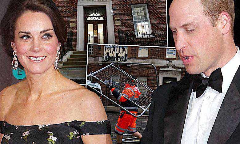 Księżna Kate szpital poród