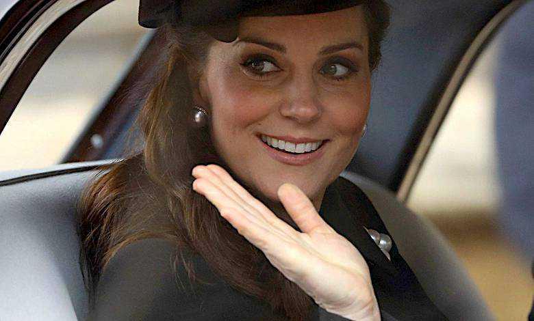 Księżna Kate w szpitalu