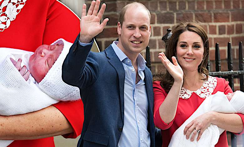 Trzeci syn księżnej Kate i księcia Williama