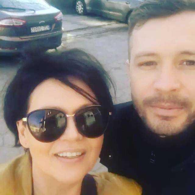 Małgorzata Pieńkowska i Andrzej Młynarczyk