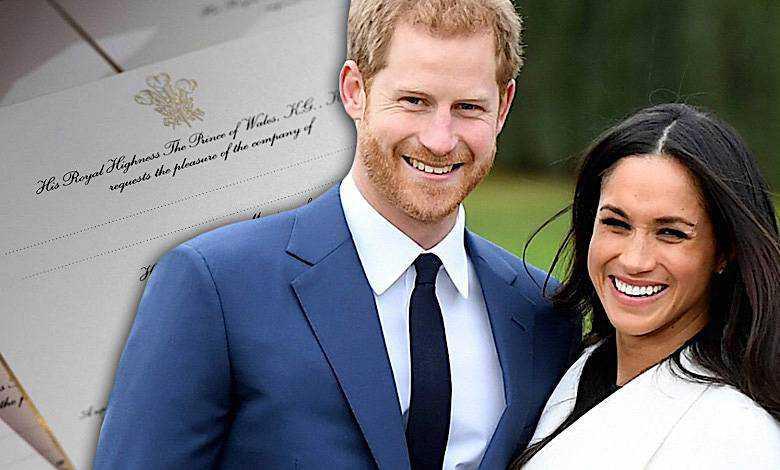 Meghan Markle gwiazdy na ślubie