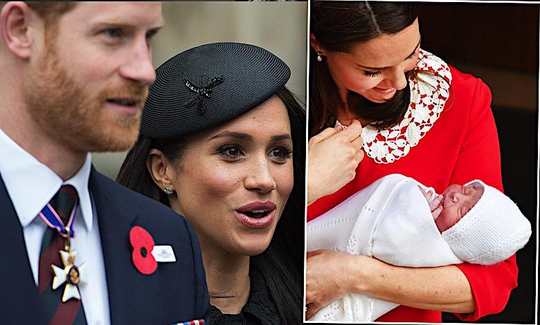 Książę Louis, Meghan Markle, książę Harry