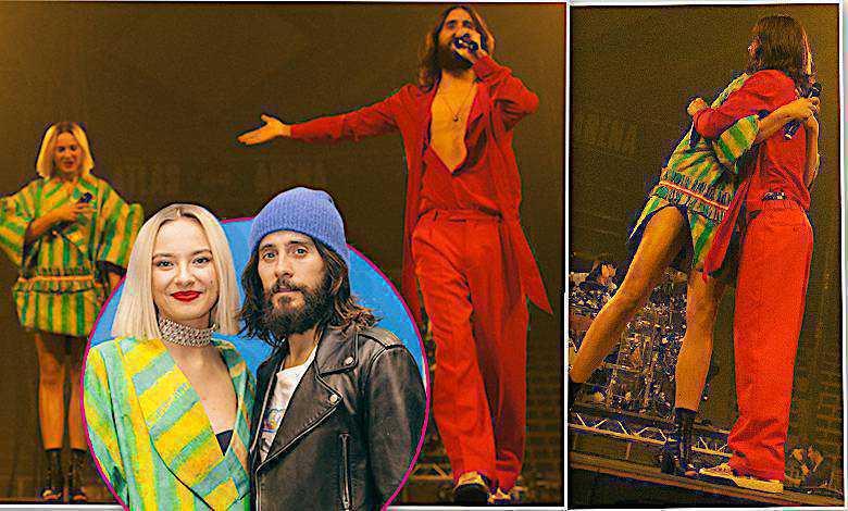 Wow! Jared Leto zachwycił się Natalią Nykiel! Ich występ przejdzie do historii! Nie zabrakło czułości [WIDEO]