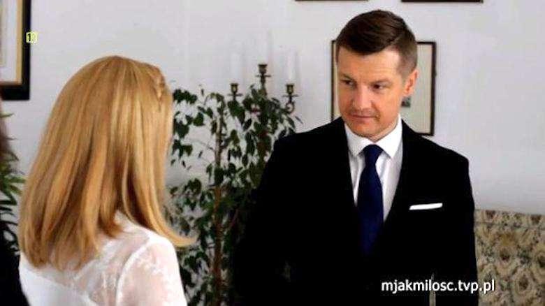 Ślub Pawła i Katji w M jak miłość