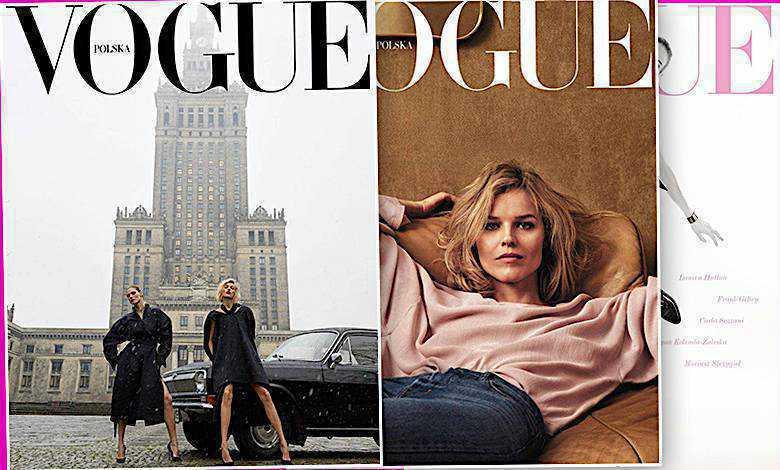 Vogue Polska numer 3 okładka