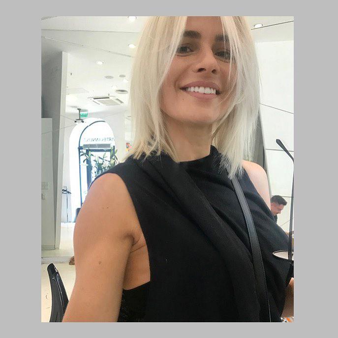 Zdjęcie (8) Natasza Urbańska zmieniła się w Beatę Tadlę! Zaszalała u fryzjera jak nigdy wcześniej!