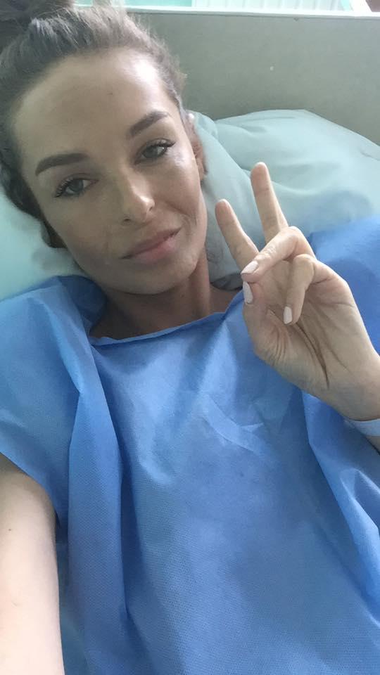 Kasia Sowińska w szpitalu