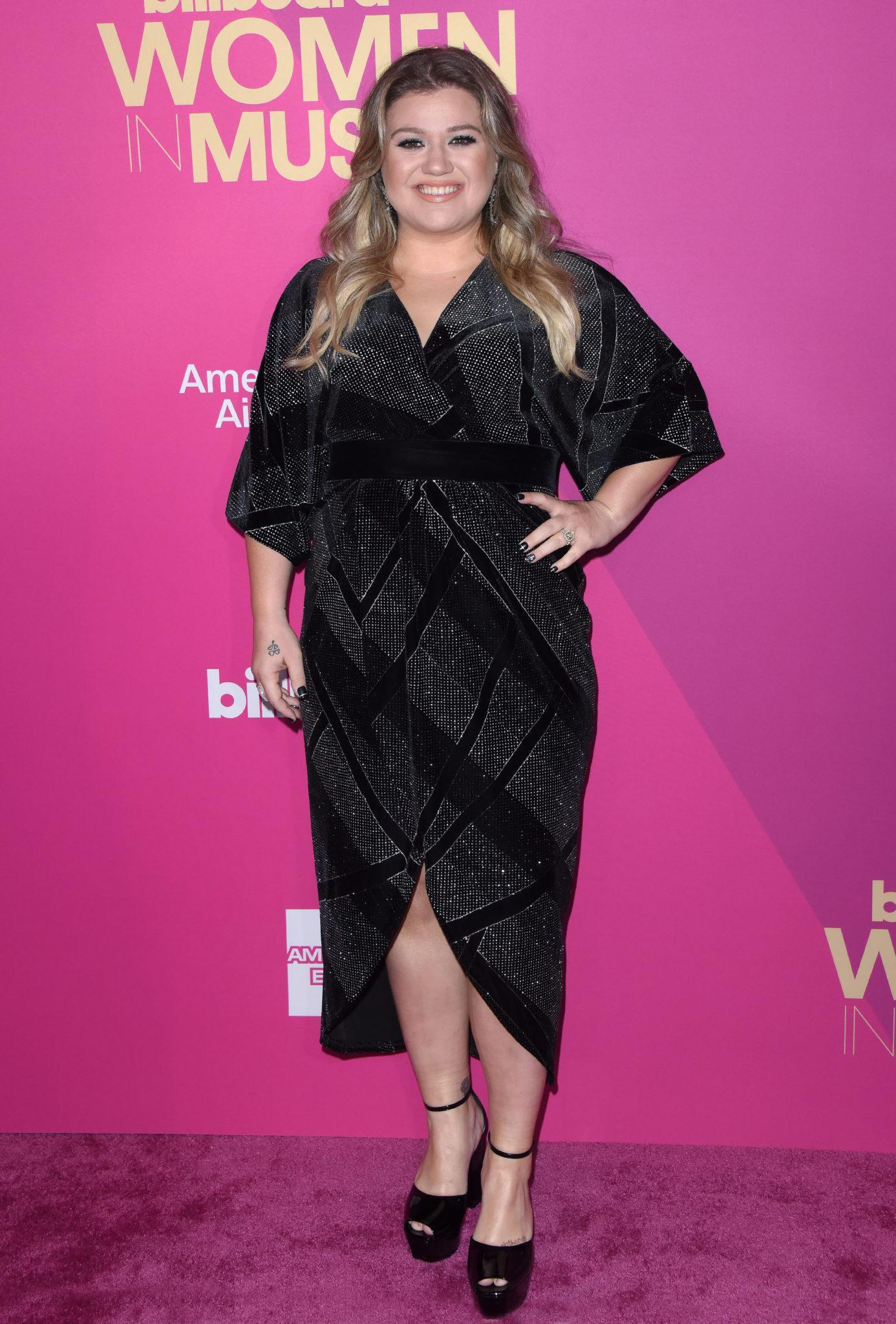 Kelly Clarkson przed przejściem na dietę