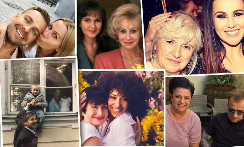 Gwiazdy pokazały swoje mamy z okazji Dnia Matki: Maja Ostaszewska, Omena Mensah, Joanna Moro, Beata Tadla